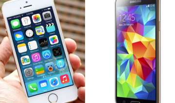 samsung galaxy s5 vs iphone 5s a comparison -...