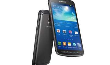 samsung launches water proof galaxy s4 active to...