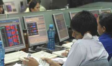 sensex ends at record high of 21 033.97 up 105...