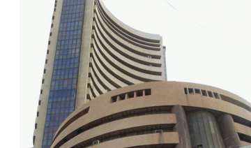 sensex slips in red after hitting fresh record...