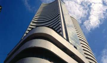 sensex moves up for second day gains only 85...