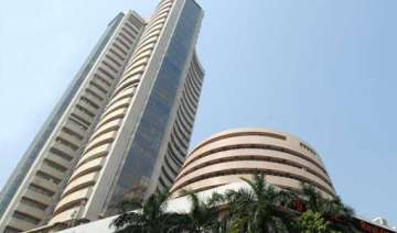 sensex rises 67 points to end near record close -...