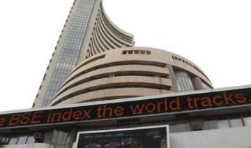 sensex snaps two day rally slips 75 points -...