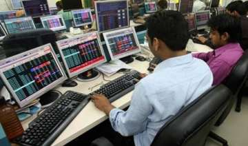 sensex recovers 124 points on global cues - India...