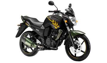 yamaha fazer and fz s get new battle green paint...