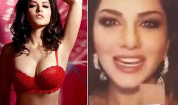 watch video sunny leone asks chocolate but gets...