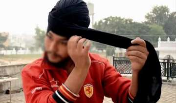 know what forced this sikh guy to remove his...