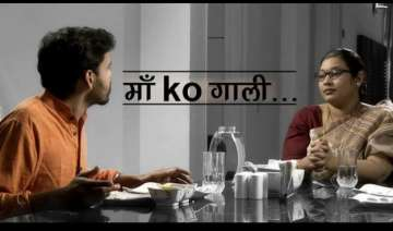jnu row when a mother asks son if he would ever...