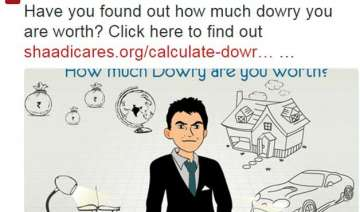 what s your market price this dowry calculator...