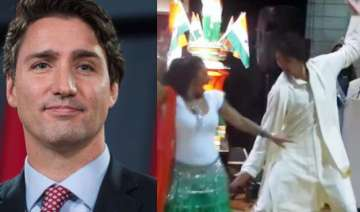 watch video canadian pm dances to bhangra beats...