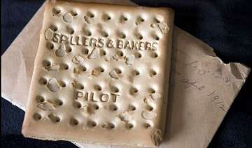 103 year old biscuit from the titanic sold for...