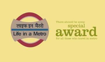 award for the best delhi metro commuter goes...