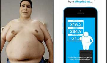 oye kam kha this damn weight loss app insults you...