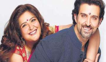 a smile on sunaina s face adds spark to hrithik s...