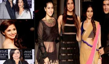 a star studded opening to the lakme fashion week...