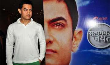 aamir khan to make debut on tv on may 6 - India TV