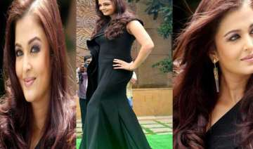 aishwarya rai bachchan makes heads turn at lodha...