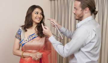 and now madhuri in wax at madame tussauds london...