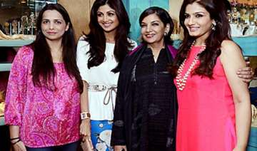 bollywood beauties spotted at the launch of diva...