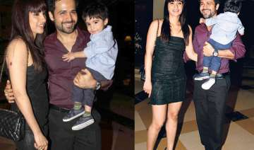 emraan s vacation with wife and kids in europe -...