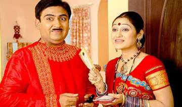 film version of serial taarak mehta ka oolta set...