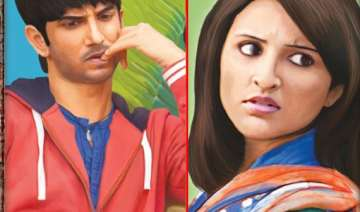 first look parineeti and sushant romance in...
