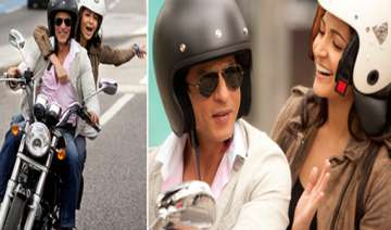 first look of srk with anushka in yash chopra...