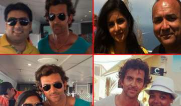 hrithik and katrina spotted in greece for bang...
