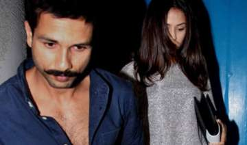 spotted the adorable couple shahid kapoor and...