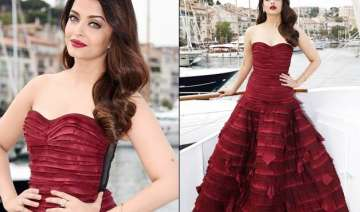 cannes 2015 aishwarya rai stuns in red during...