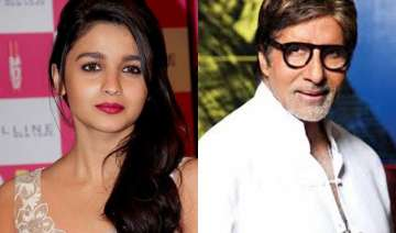 alia finds her first student big b - India TV