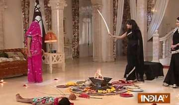 sasural simar ka simar learns black magic from...