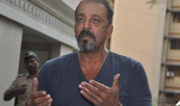 sanjay dutt takes a u turn comes home from...