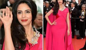 cannes 2015 bold mallika sherawat covers up...
