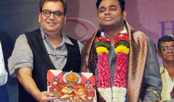 subhash ghai was first to approach a.r. rahman...