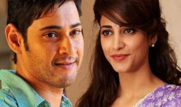 for shruti haasan mahesh babu is one of the most...