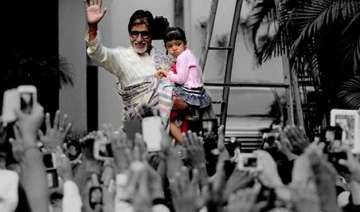 amitabh bachchan reveals aaradhya s details on...