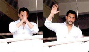 salman khan thanks fans for support - India TV