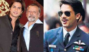 shahid upset over leak of his air force pilot...