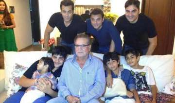 this is how salman khan spent sunday after...