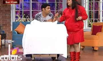 omg kapil sharma makes fun of radhey maa on...