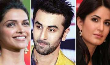 katrina plays spoilsport at ranbir and deepika s...