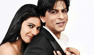 shah rukh and kajol s romantic moment captured on...