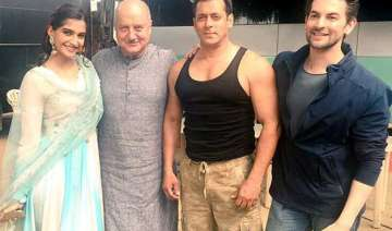 working with salman khan an amazing experience...