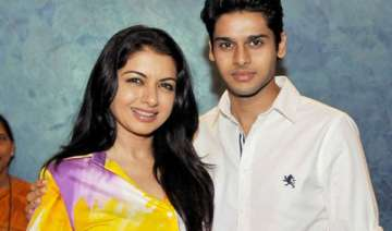 bhagyashree s son abhimanyu is getting trained to...