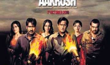 is devgn s aakrosh a lift from mississippi...