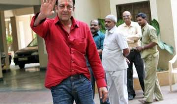sanjay dutt returns home on furlough has lost 18...