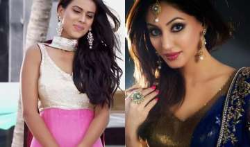 jamai raja s girls roshni and samaira lock lips -...