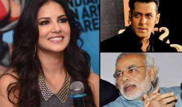 sunny leone beats salman khan and pm narendra...