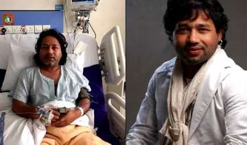 kailash kher hospitalised show in gujarat...